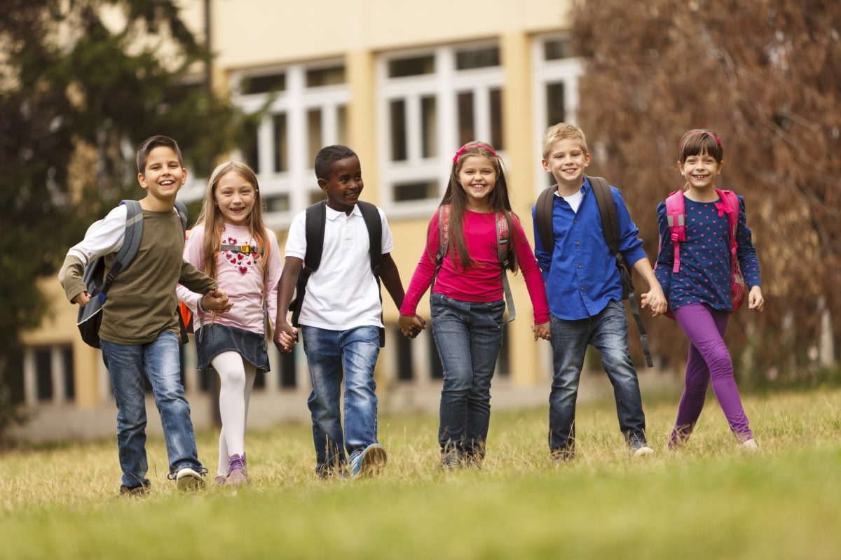 Active School Travel Helps to Keep the Earth Clean!