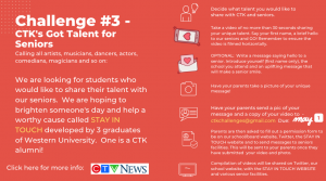 CTK's Got Talent Challenge for Seniors.