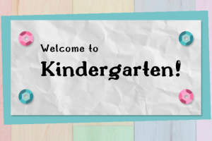 Welcome to Kindergarten at CTK!